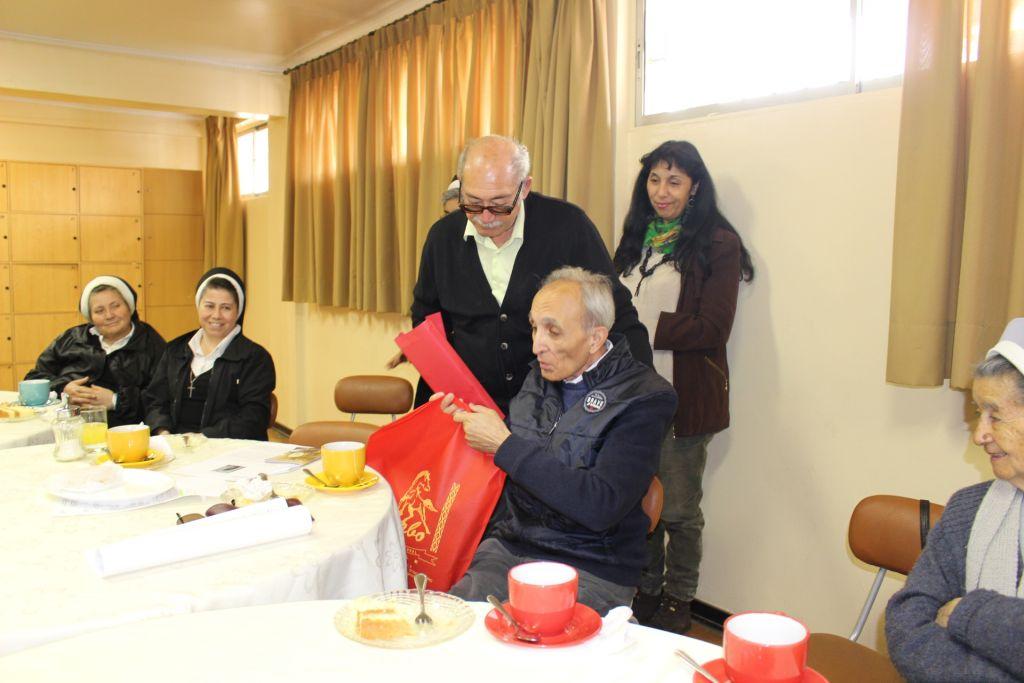 Visita del Hermano Luigi Guarneri