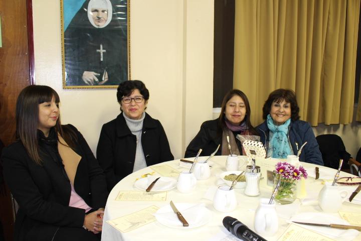 Meteada conmemorativa de los 166 años de la llegada de la Madre Bernarda Morín